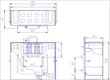 Габаритный чертеж кросса 502-01